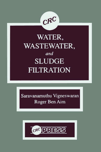 Water, Wastewater, and Sludge Filtration book cover