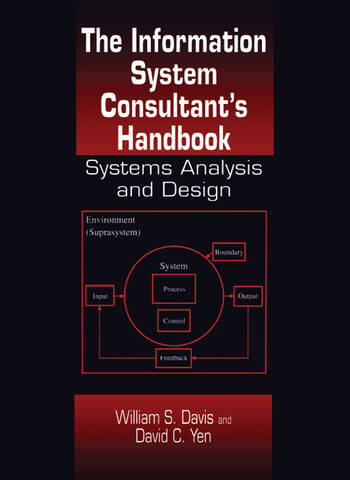 The Information System Consultant's Handbook Systems Analysis and Design book cover