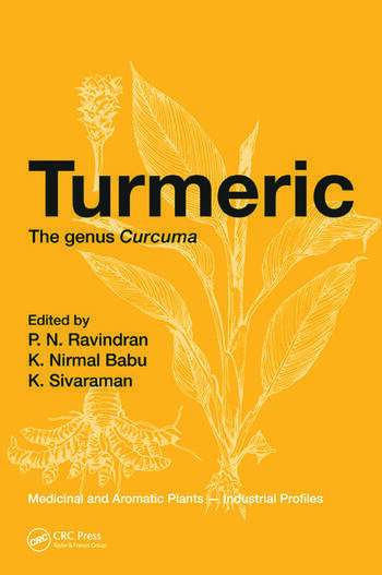 Turmeric The genus Curcuma book cover