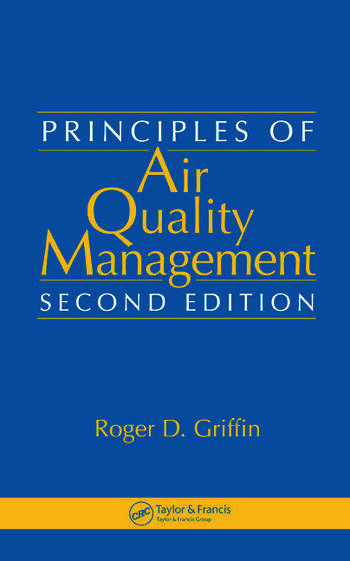 Principles of Air Quality Management book cover