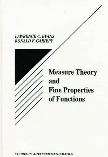 Measure Theory and Fine Properties of Functions book cover