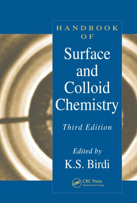 Handbook of Surface and Colloid Chemistry, Third Edition book cover