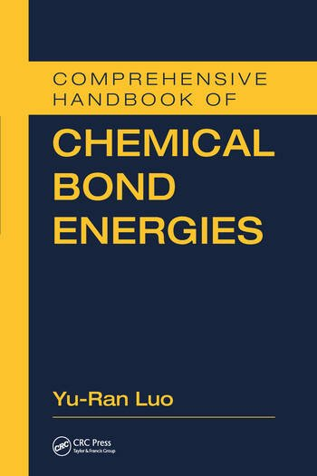 Comprehensive Handbook of Chemical Bond Energies book cover