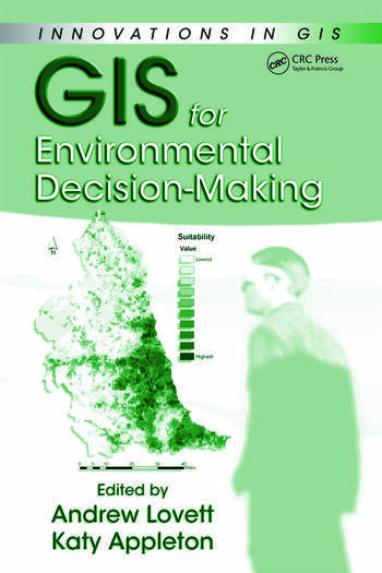 GIS for Environmental Decision-Making book cover