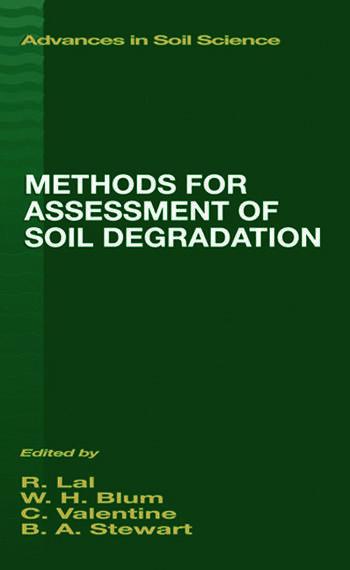 Methods for Assessment of Soil Degradation book cover