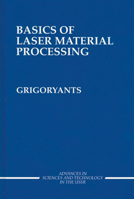 Basics of Laser Material Processing book cover