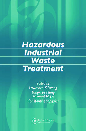 Hazardous Industrial Waste Treatment book cover