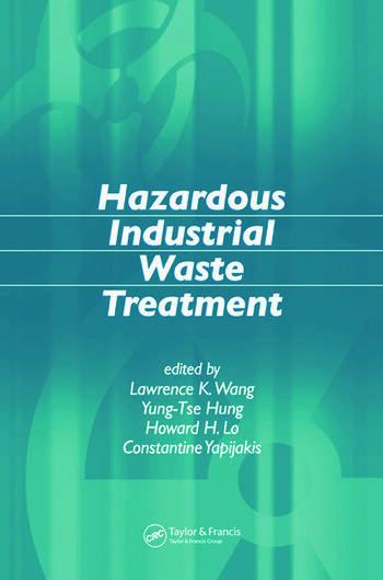 Hazardous Industrial Waste Treatment book cover