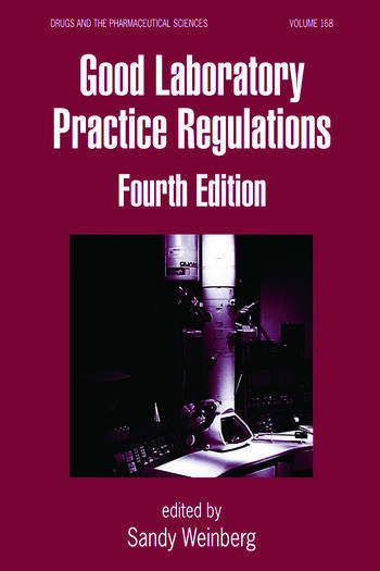 Good Laboratory Practice Regulations book cover