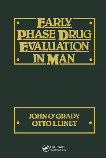 Early Phase Drug Evaluation in Man book cover