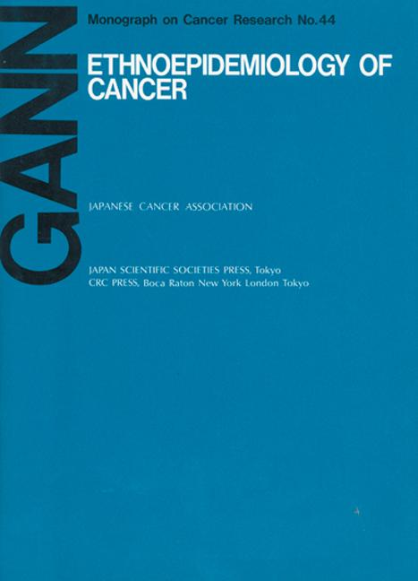Ethnoepidemiology on Cancer book cover