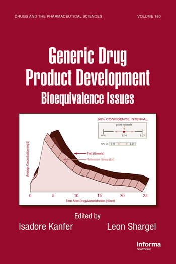 Generic Drug Product Development Bioequivalence Issues book cover