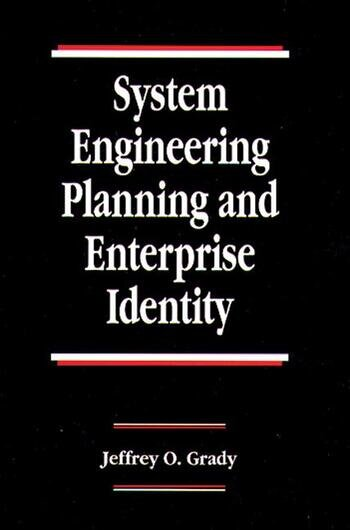 System Engineering Planning and Enterprise Identity book cover