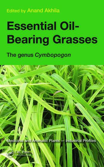 Essential Oil-Bearing Grasses The genus Cymbopogon book cover