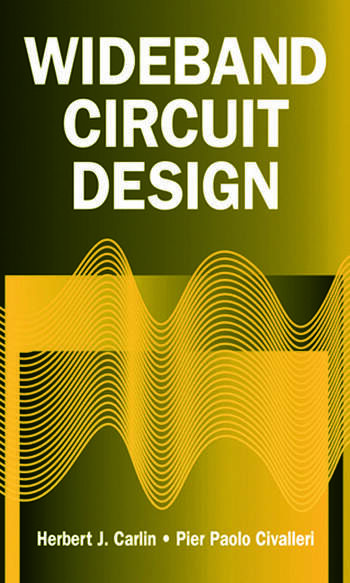 Wideband Circuit Design book cover
