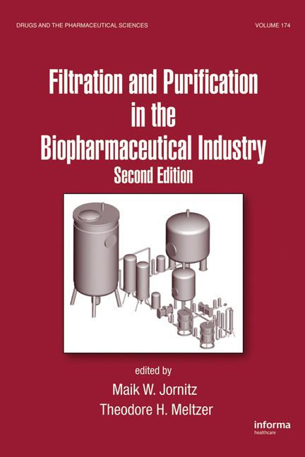 Filtration and Purification in the Biopharmaceutical Industry book cover