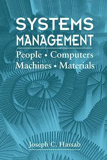 Systems Management People, Computers, Machines, Materials book cover