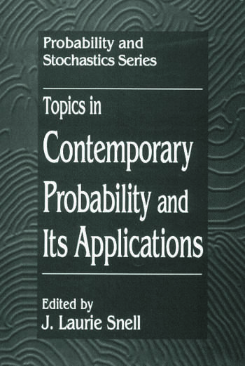 Topics in Contemporary Probability and Its Applications book cover