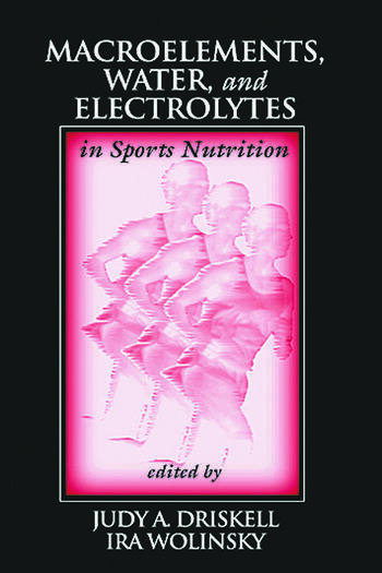 Macroelements, Water, and Electrolytes in Sports Nutrition book cover
