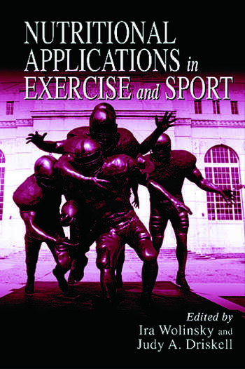 Nutritional Applications in Exercise and Sport book cover