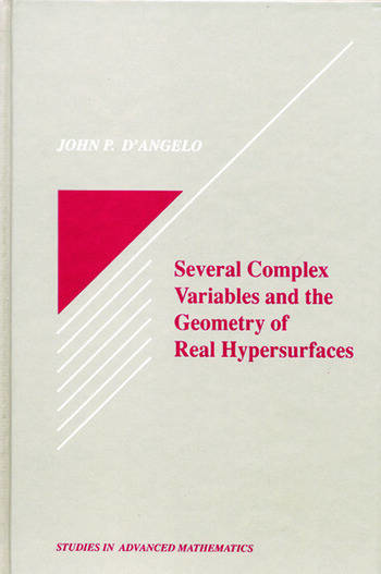 Several Complex Variables and the Geometry of Real Hypersurfaces book cover