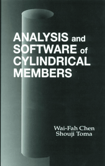 Analysis and Software of Cylindrical Members book cover