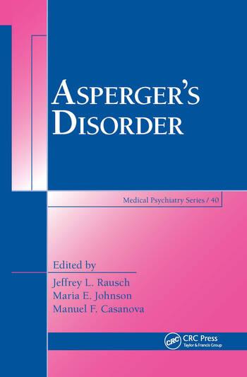 Asperger's Disorder book cover