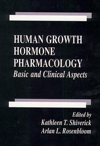 Human Growth Hormone Pharmacology Basic and Clinical Aspects book cover