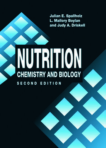 Nutrition CHEMISTRY AND BIOLOGY, SECOND EDITION book cover