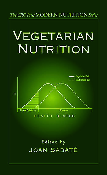 Vegetarian Nutrition book cover
