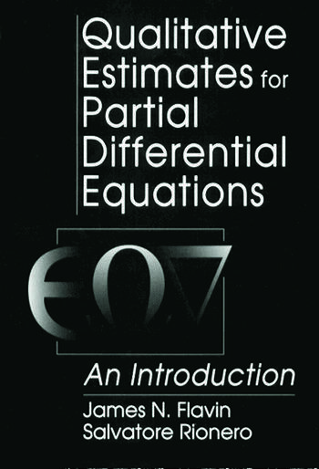 Qualitative Estimates For Partial Differential Equations An Introduction book cover