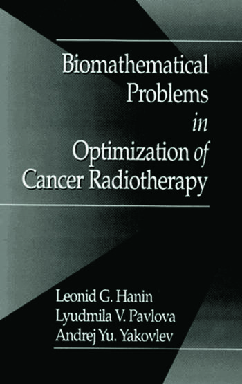Biomathematical Problems in Optimization of Cancer Radiotherapy book cover