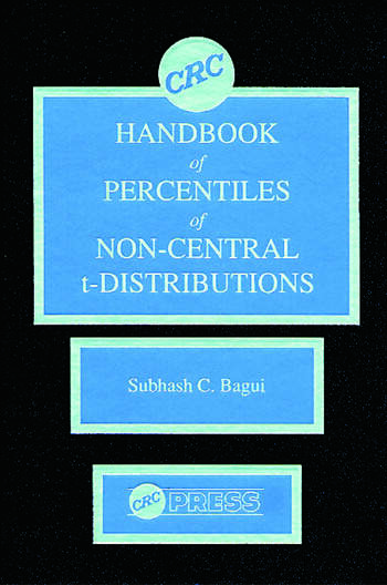CRC Handbook of Percentiles of Non-Central t-Distributions book cover
