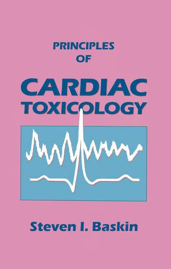 Principles of Cardiac Toxicology book cover
