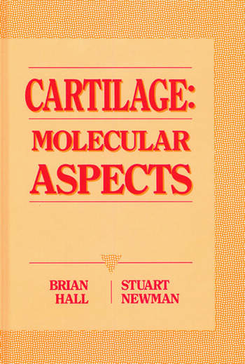 Cartilage Molecular Aspects book cover