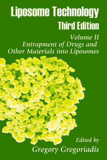Liposome Technology Entrapment of Drugs and Other Materials into Liposomes book cover