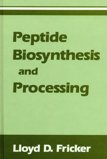 Peptide Biosynthesis and Processing book cover