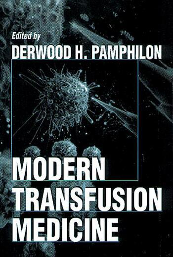 Modern Transfusion Medicine book cover