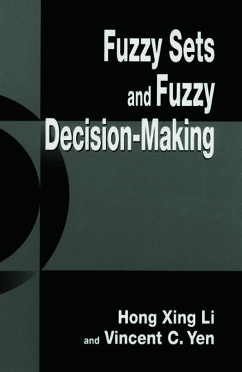 Fuzzy Sets and Fuzzy Decision-Making book cover