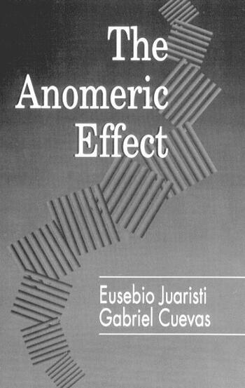 The Anomeric Effect book cover