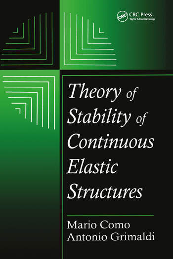 Theory of Stability of Continuous Elastic Structures book cover