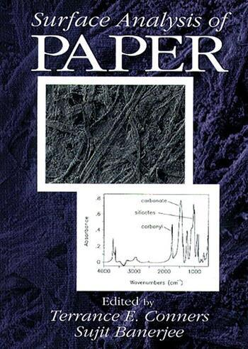 Surface Analysis of Paper book cover