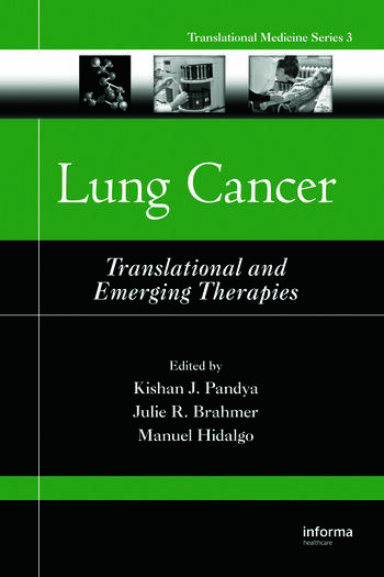 Lung Cancer Translational and Emerging Therapies book cover