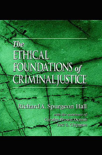 The Ethical Foundations of Criminal Justice book cover