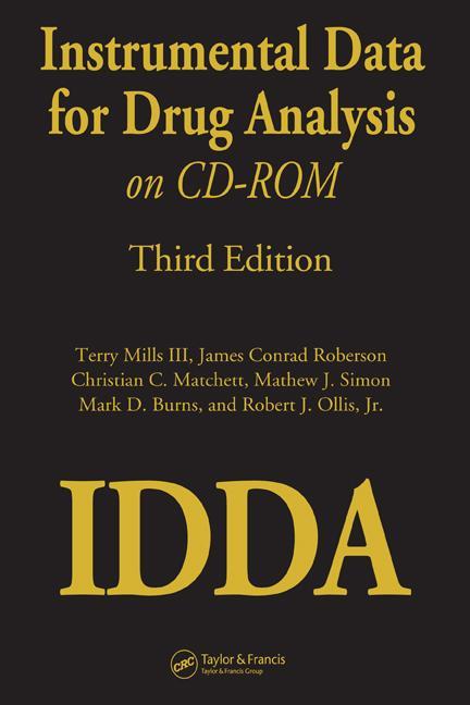 Instrumental Data for Drug Analysis on CD-Rom book cover