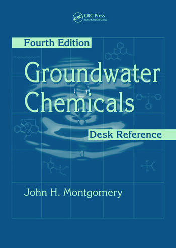 Groundwater Chemicals Desk Reference book cover