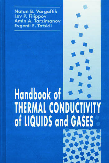 Handbook of Thermal Conductivity of Liquids and Gases book cover