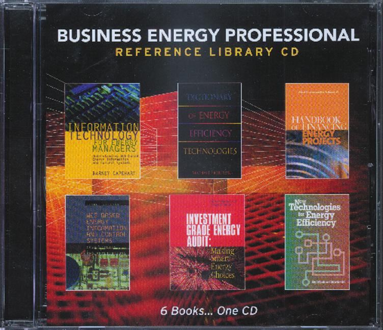 Business Energy Professional Reference Library CD book cover