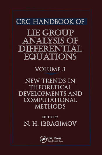 CRC Handbook of Lie Group Analysis of Differential Equations, Volume III book cover