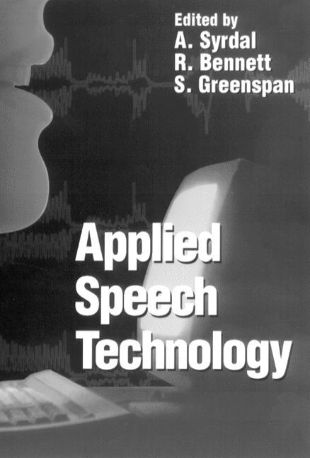 Applied Speech Technology book cover